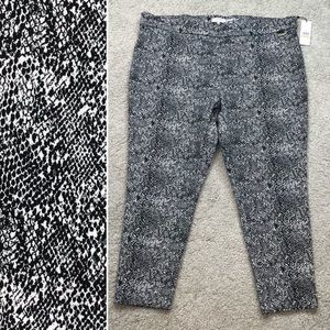 Calvin Klein Animal Printed Pants 3X K447